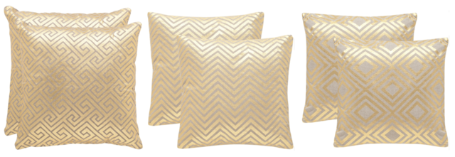 Safavieh Gold Throw Pillows